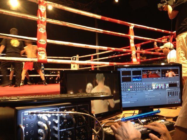Tricaster Boxeo